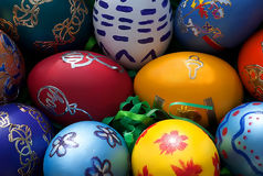 Pâques eggs-8 Images libres de droits