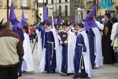 Pâques en Espagne Image libre de droits