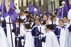 Pâques en Espagne Photos libres de droits