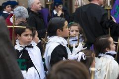 Pâques en Espagne Photos stock