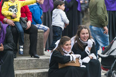 Pâques en Espagne Images libres de droits