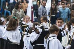 Pâques en Espagne Image stock