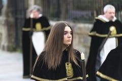 Pâques en Galicie Espagne Image stock