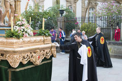 Pâques en Galicie Espagne Photos libres de droits