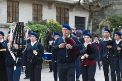 Pâques en Galicie Espagne Images stock