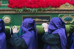 Pâques en Galicie Espagne Images libres de droits