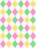 Pâques en pastel Argyle Photo stock