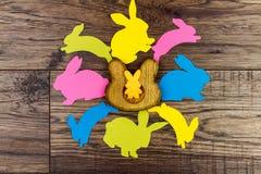 Pâques et le ressort heureux est prochain concept Photo libre de droits