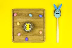 Pâques et le ressort heureux est prochain concept Image stock