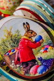 Pâques ethno-juste dans Uzhhorod Images libres de droits