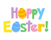 Pâques heureuse Image libre de droits