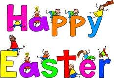 Pâques heureuse Photographie stock libre de droits