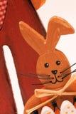 Pâques-lapin Photos libres de droits