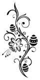 Pâques, oeufs, jonquille Image libre de droits