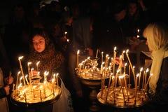 Pâques orthodoxe à Prague, République Tchèque Image libre de droits