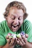 Pâques passionnante Photographie stock libre de droits