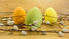 Pâques a peint des oeufs Photo libre de droits