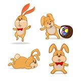 Pâques rabbit7 illustration de vecteur