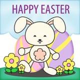 Pâques Rabit Bunny Egg Hunt Illustration Photo libre de droits