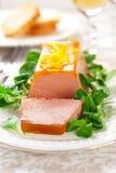 Pâté de foie de poulet Images stock