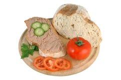 pâté de pain de pain Photographie stock libre de droits