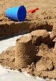 Pâté de sable Photographie stock libre de droits