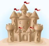 Pâté de sable illustration stock