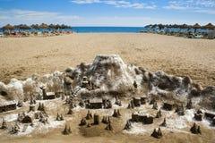 Pâté de sable Photographie stock
