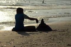 Pâté de sable Image stock