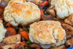Pâté en croûte de poulet Photo stock