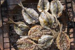 Pâté frit de poissons Photos stock