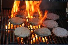 Pâtés d'hamburger Images libres de droits