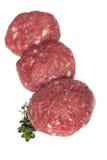 Pâtés d'hamburger Photo libre de droits
