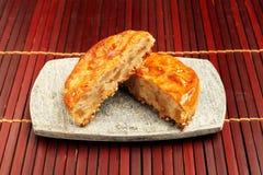 Pâtés en croûte de viande Photo stock