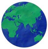 Pâte à modeler de la terre Photos libres de droits