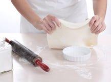Pâte à tarte Photographie stock libre de droits