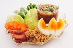 Pâte épicée de /poivron (Nam Prik) Photos stock