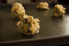 Pâte crue de biscuit Photo libre de droits