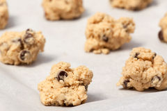 Pâte de biscuit Photos stock