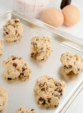 Pâte de biscuit image libre de droits