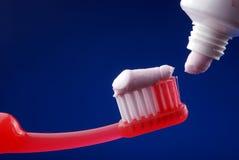 Pâte dentifrice images stock