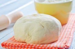 Pâte et farine Image stock