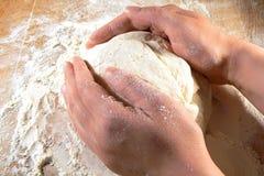 Pâte fabriquée à la main Image libre de droits
