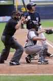 Pâte lisse de Yankees de barre de Scranton Wilkes Photo libre de droits