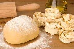 Pâte pour des pâtes Photos libres de droits