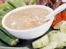 Pâte thaïe de /poivron Image libre de droits
