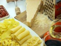 Pâtes Photo stock