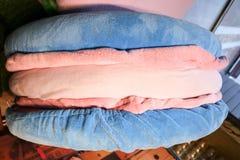 Pâtes bleues de peluche, jouet mou, photos libres de droits