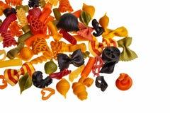 Pâtes colorées italiennes. Photos libres de droits