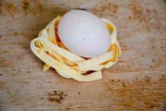 Pâtes crues Photo stock